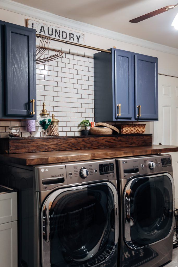 creating my dream laundry room has changed how I see laundry days. renovations aren't easy but they can really do incredible things for you mentally when its all over